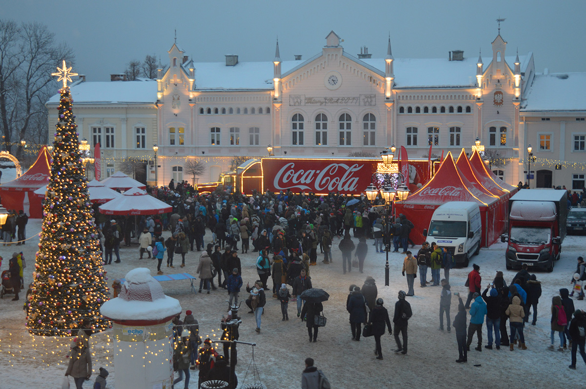 Świąteczna Ciężarówka Coca-Coli w Sanoku ? Wszystko w Twoich rękach! - Zdjęcie główne