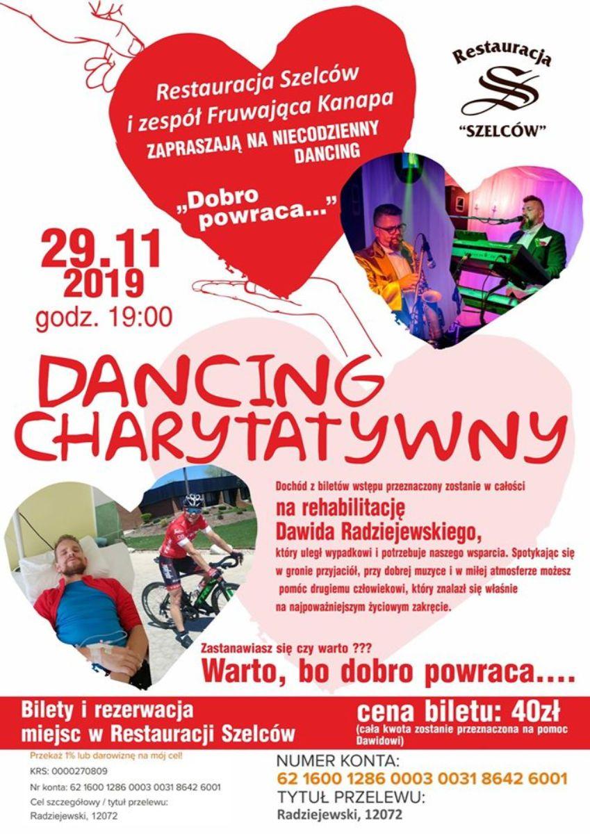 Charytatywny dancing dla Dawida Radziejewskiego - Zdjęcie główne