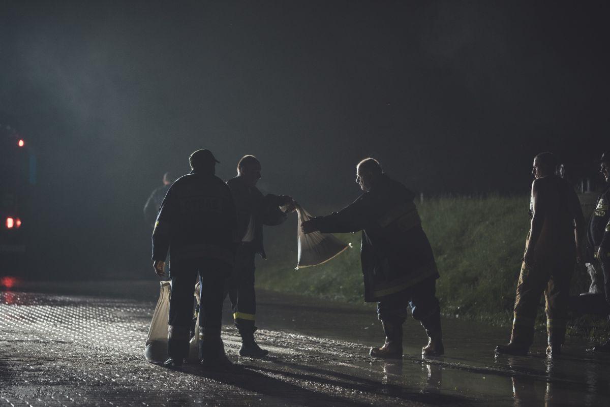 Bieszczady. Gwałtowne nawałnice. Liczne podtopienia i zalane drogi [FOTO+VIDEO] - Zdjęcie główne
