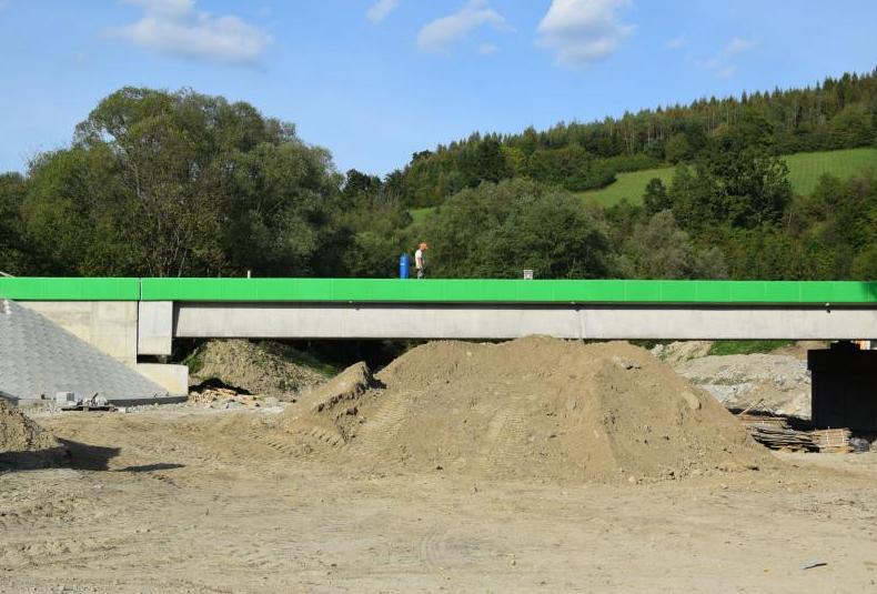 Powiat Sanocki. Most w Tyrawie Solnej prawie skończony  - Zdjęcie główne