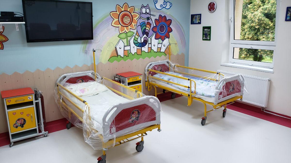 Zakończył się remont na Oddziale Dziecięcym SPZOZ w Sanoku [FOTO+VIDEO] - Zdjęcie główne