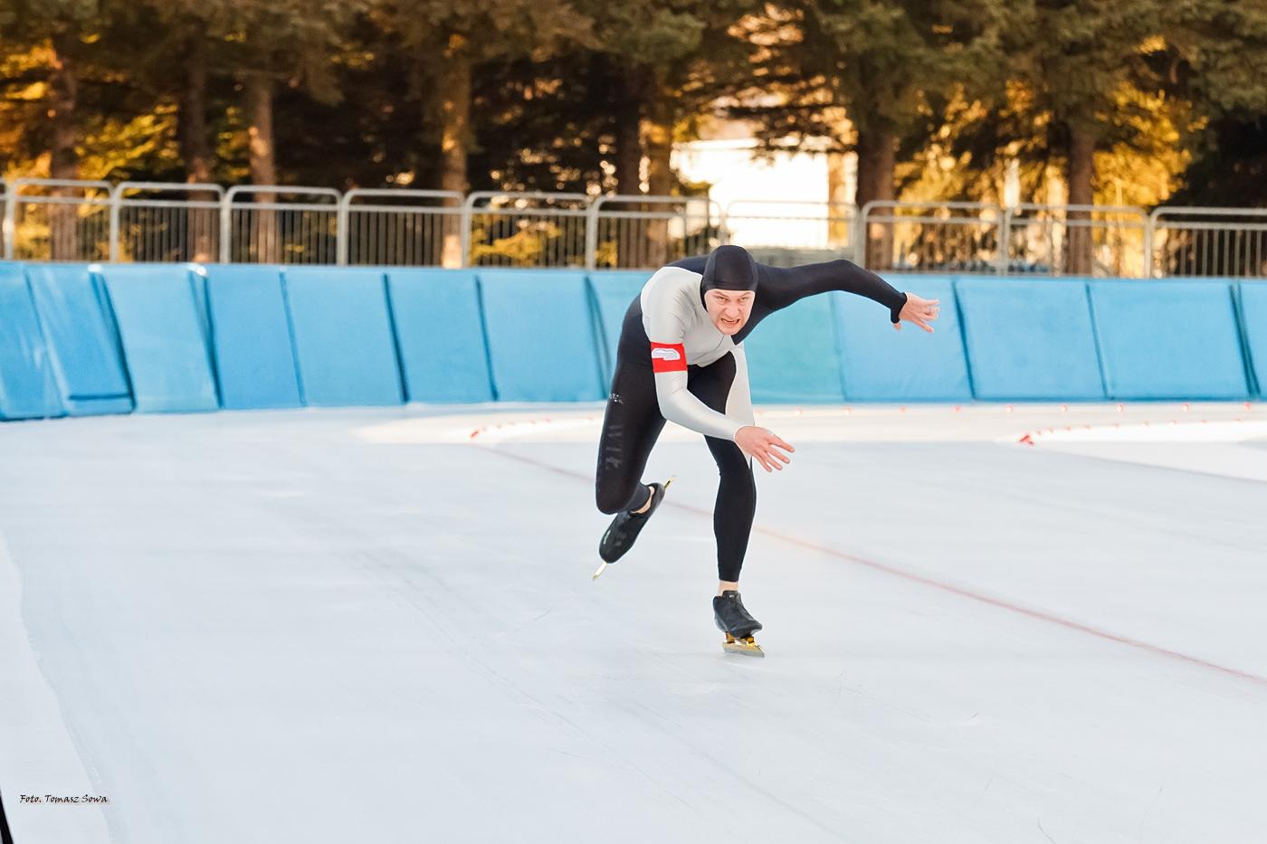 Drugi dzień Zawodów Pucharu Polski w łyżwiarstwie szybkim [FOTO+VIDEO] - Zdjęcie główne