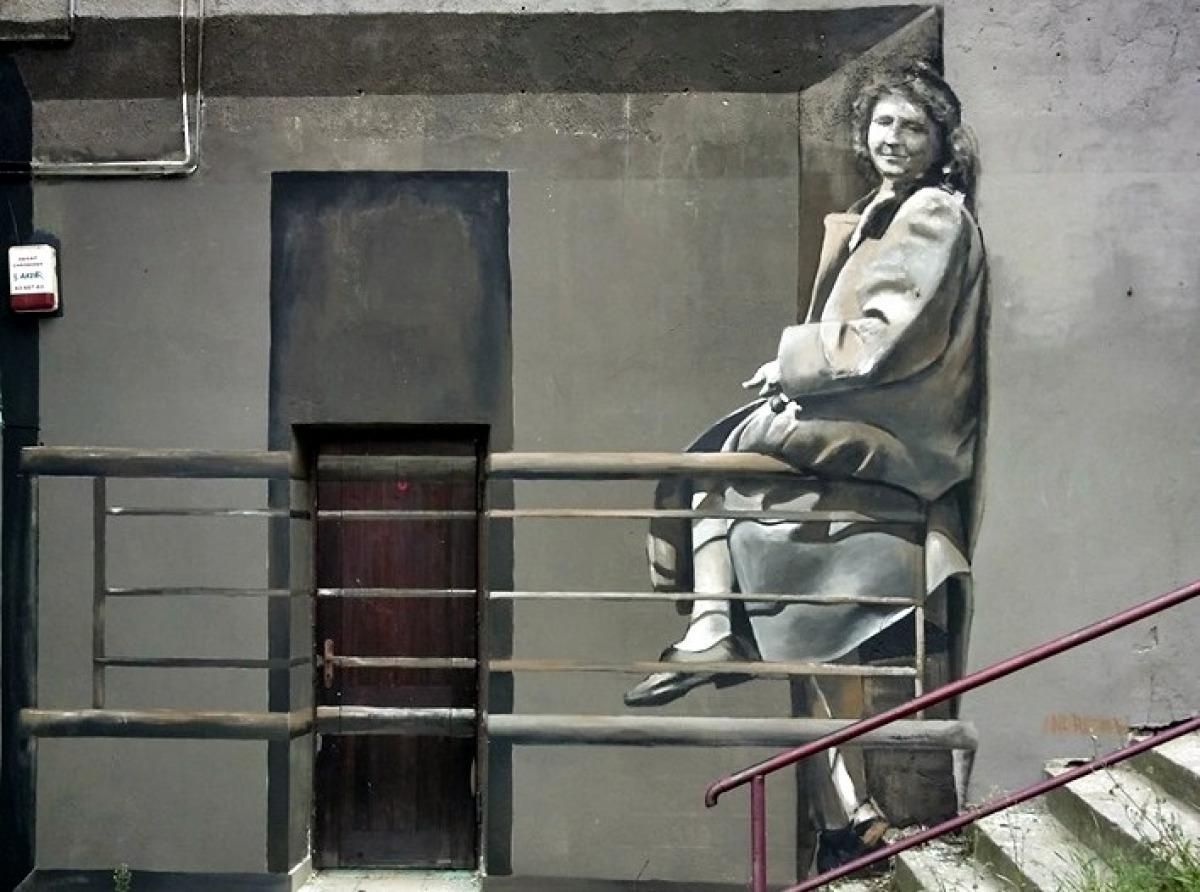 Najnowszy mural Arkadiusza Andrejkowa w Sanoku! - Zdjęcie główne