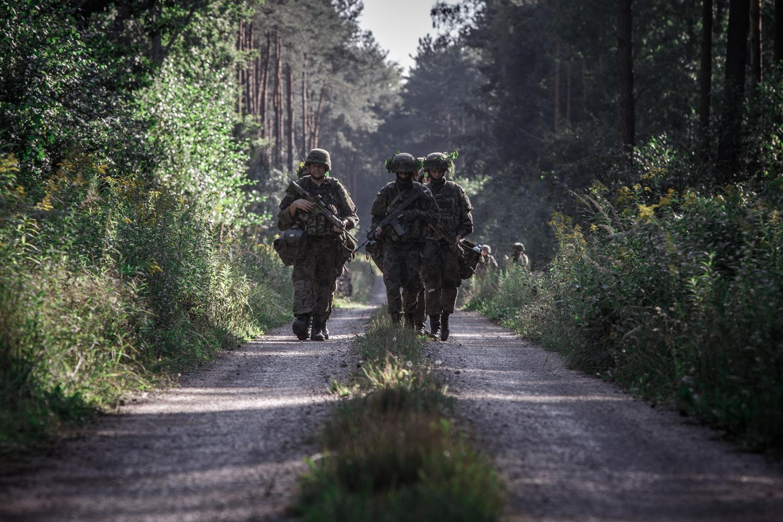 Szkolenie zintegrowane 35. Batalionu Lekkiej Piechoty z Sanoka - Zdjęcie główne