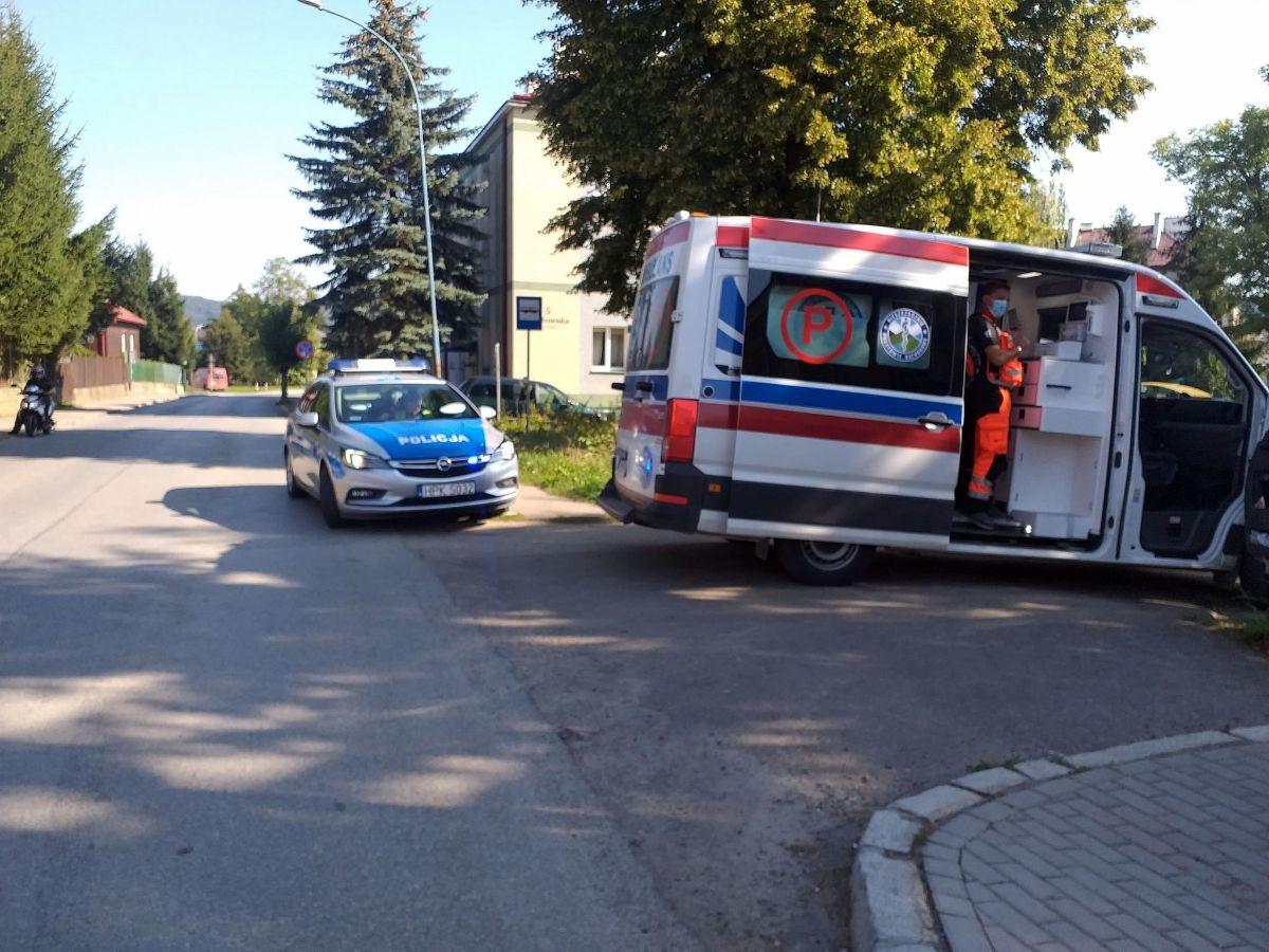Z OSTATNIEJ CHWILI: Potrącenie rowerzysty na Stróżowskiej [FOTO] - Zdjęcie główne