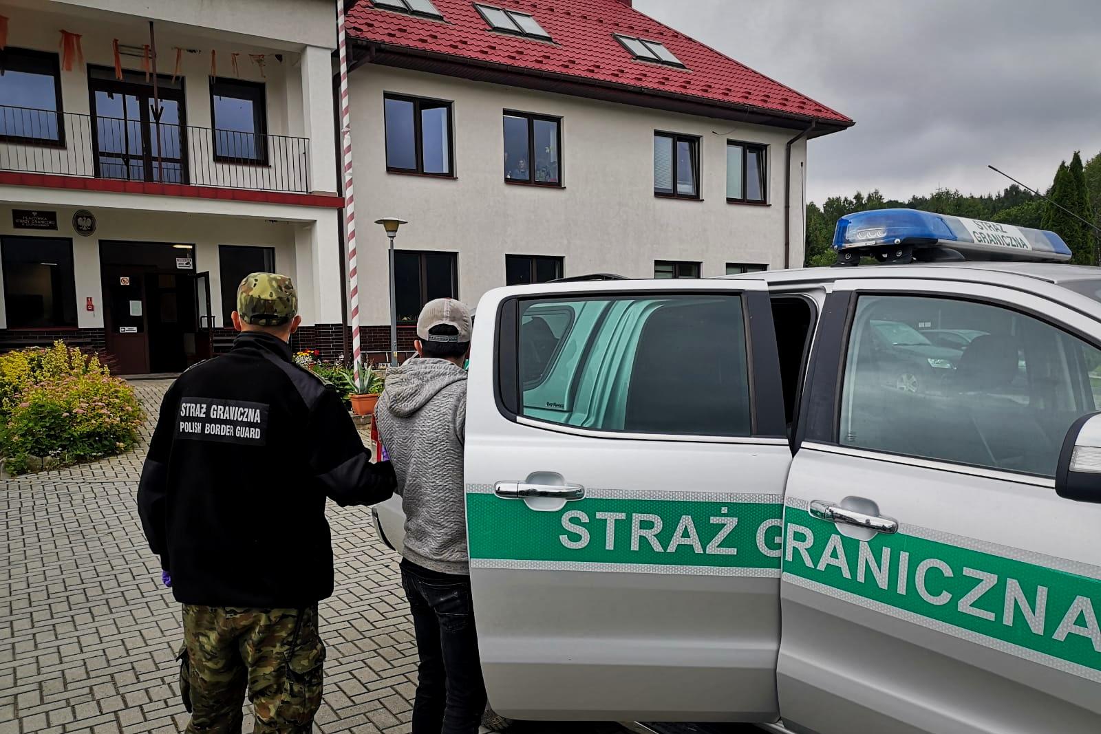 Trzej obywatele Turcji  zostali zatrzymani w Bieszczadach  - Zdjęcie główne