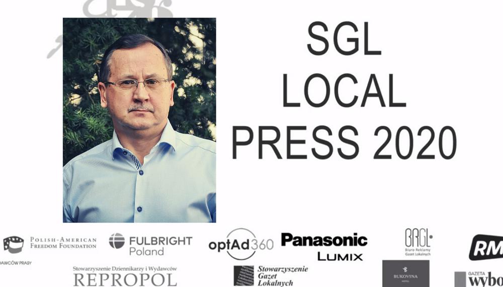 """""""Korso"""" otrzymało nagrodę SGL Local Press 2020! - Zdjęcie główne"""