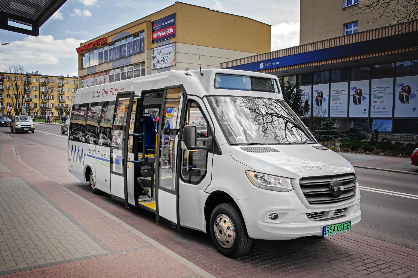 Nowy elektryczny autobus sanockiej firmy AUTOMET - Zdjęcie główne