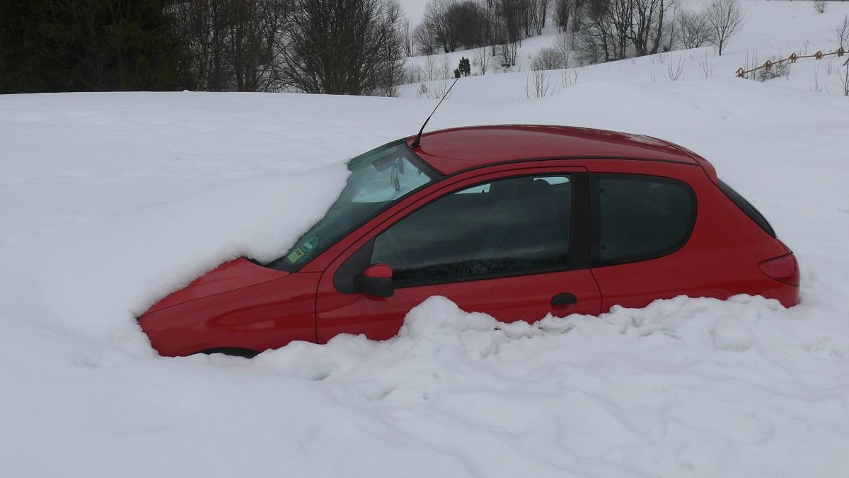 Aż trudno uwierzyć, że w Bieszczadach nadal zalega śnieg - Zdjęcie główne