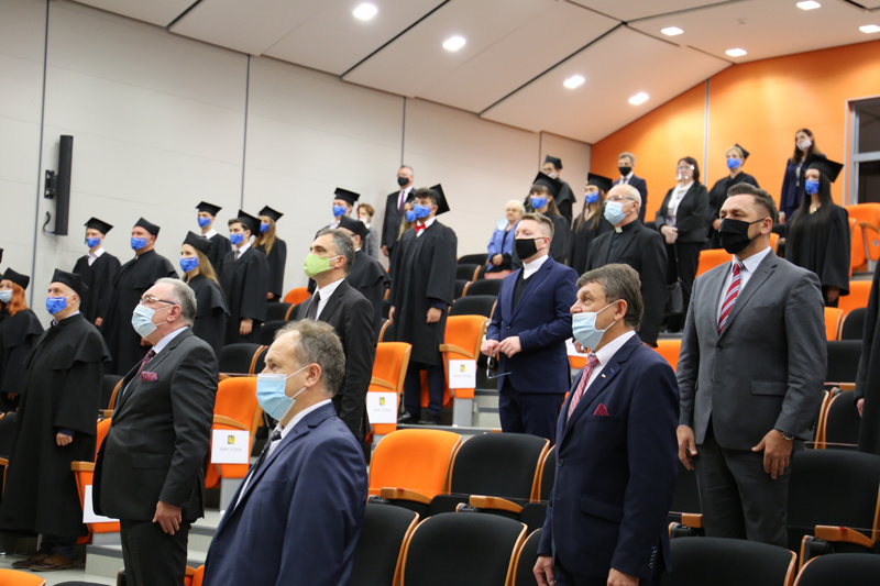 Gaudeamus Igitur rozbrzmiało po raz dwudziesty na sanockiej uczelni! [FOTO] - Zdjęcie główne