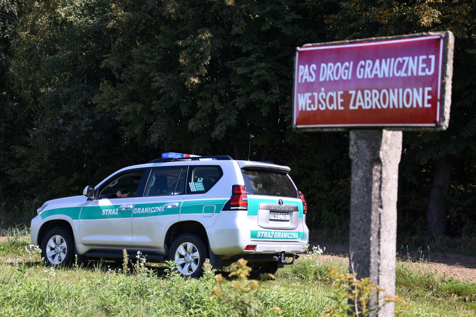 Zatrzymanie dwóch imigrantów z Turcji na przejściu granicznym  - Zdjęcie główne