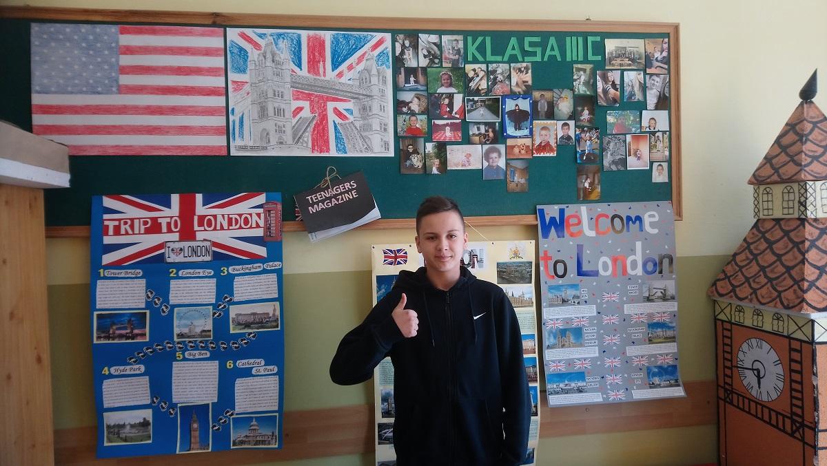 Krzysztof Dymek, gimnazjalista ze  Szkoły Podstawowej nr 1 w Sanoku odniósł duży sukces - Zdjęcie główne