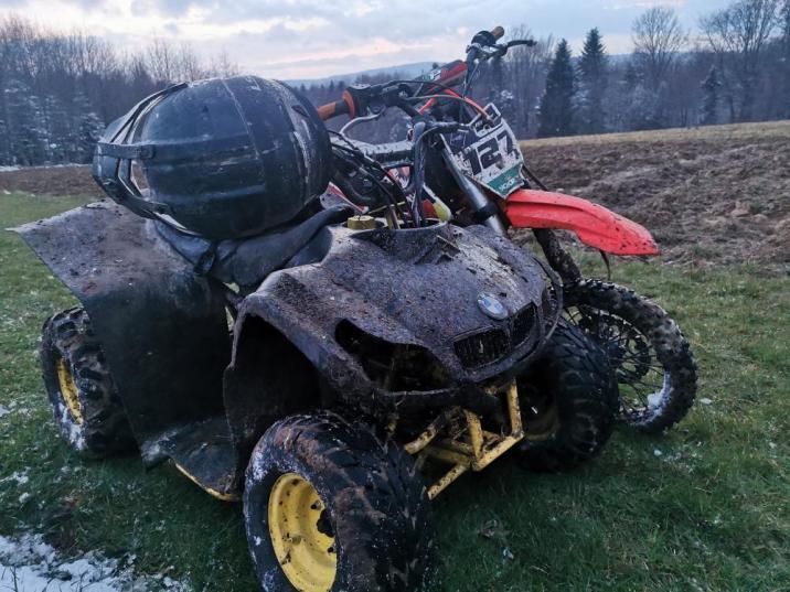Podkarpacie: 17-letni kierowca quada próbował staranować strażnika - Zdjęcie główne