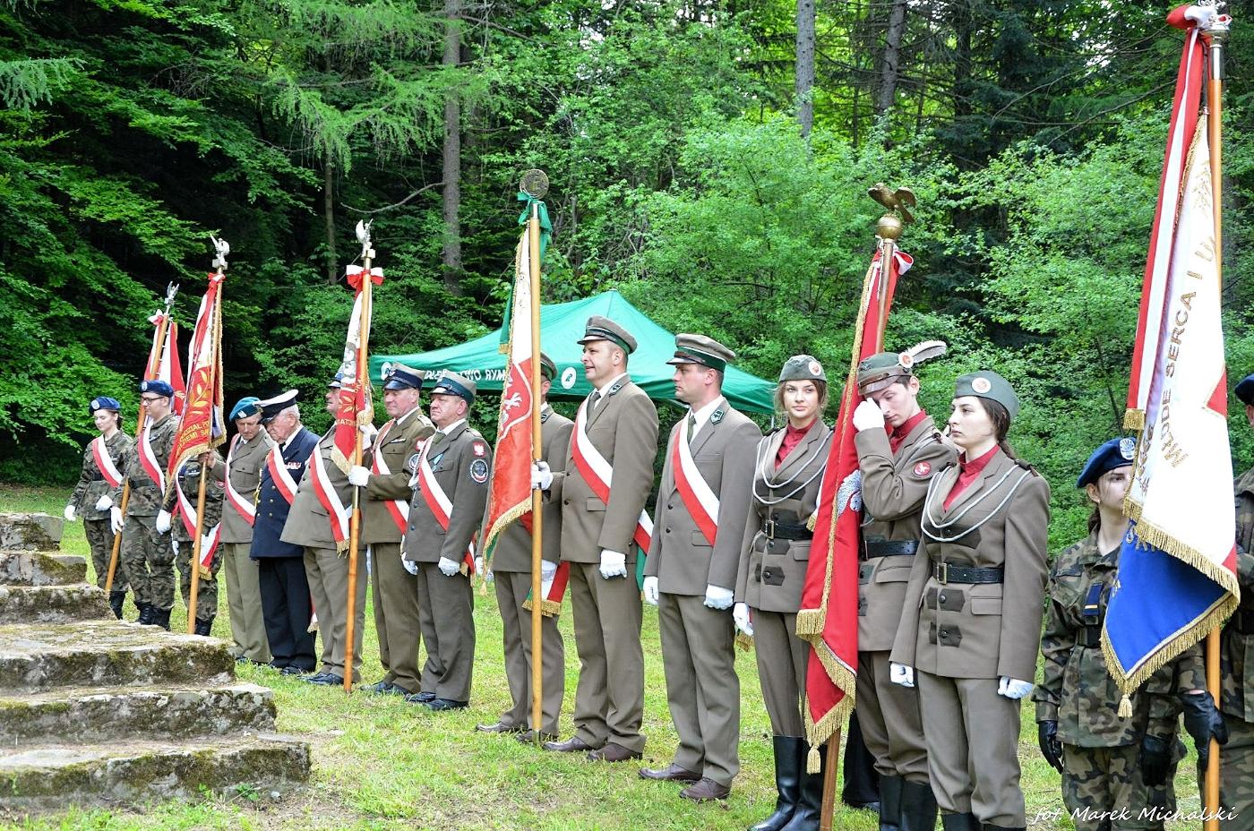 Pamięci Żołnierzy Strażnicy WOP Jasiel [ZDJĘCIA] - Zdjęcie główne