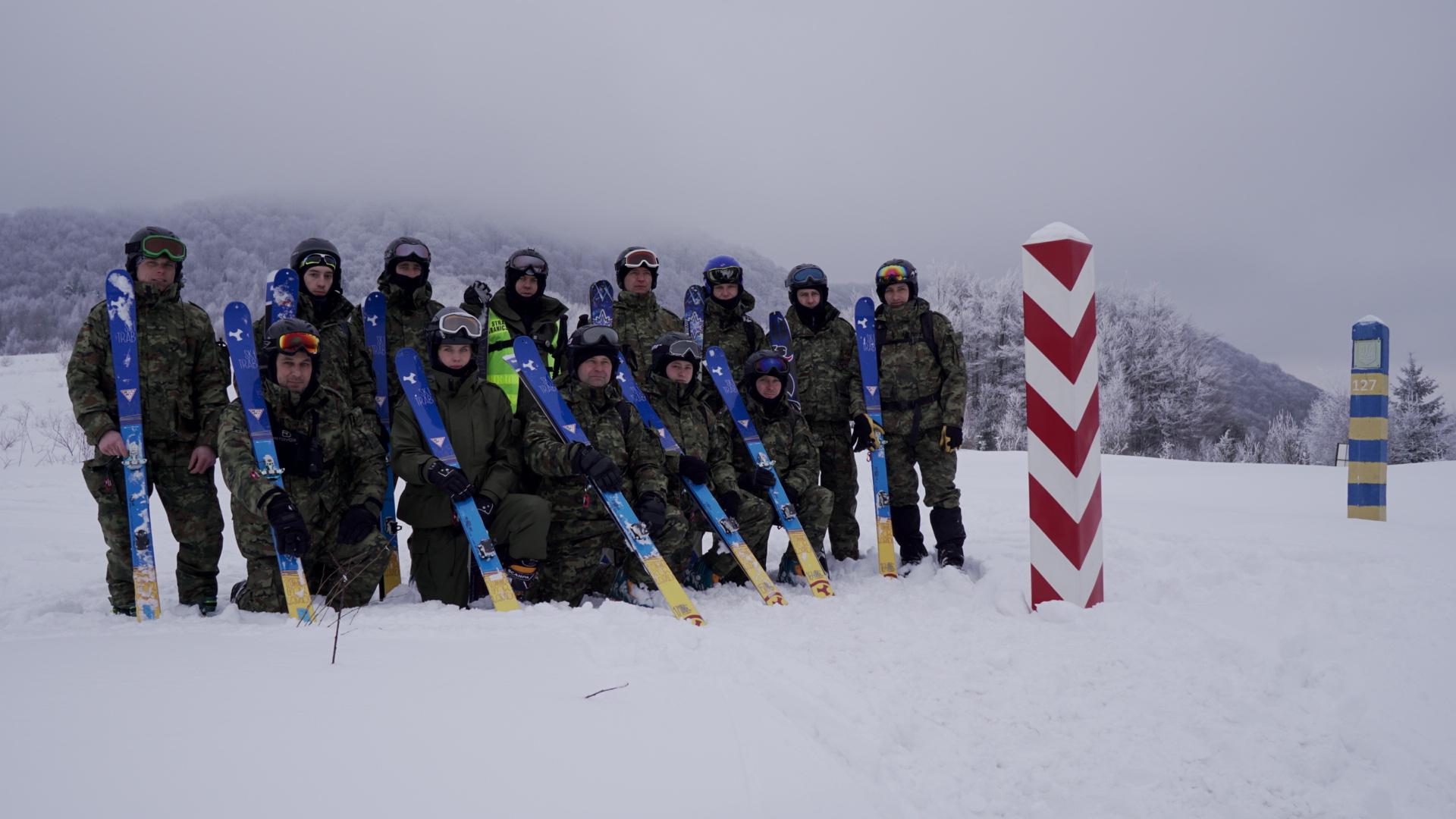 W Bieszczadach przeprowadzono szkolenie Ski-Tour dla funkcjonariuszy Straży Granicznej - Zdjęcie główne