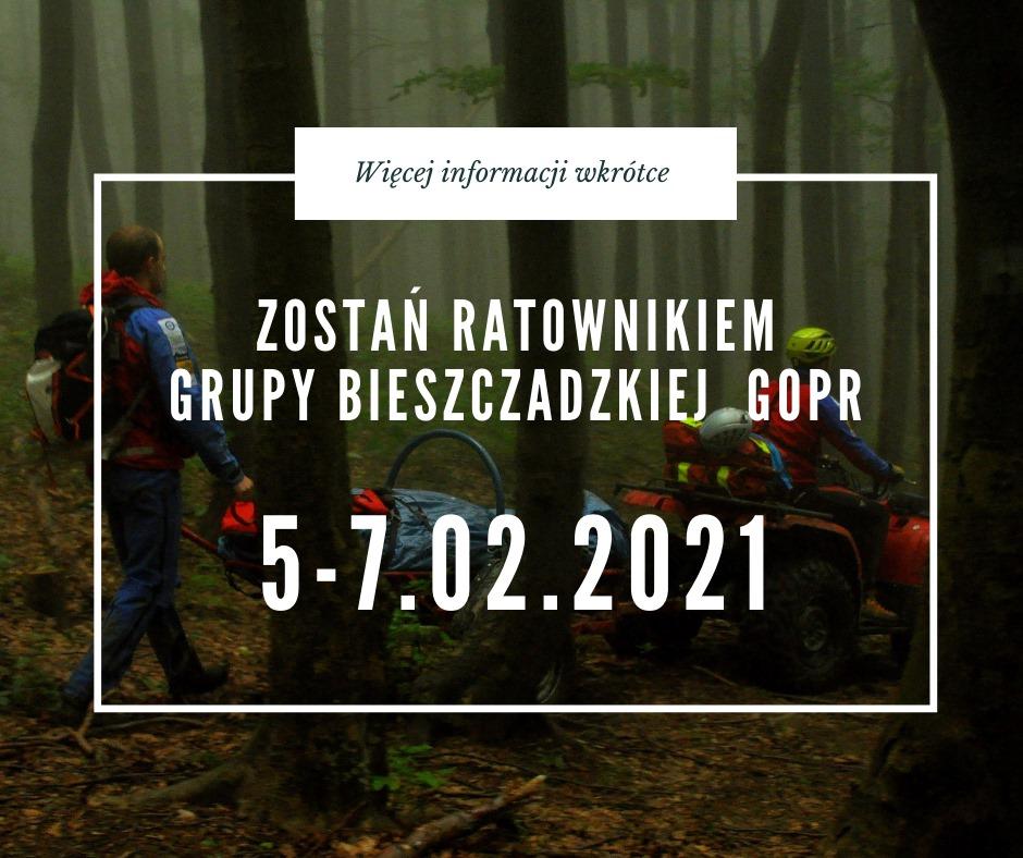 Dołącz do bieszczadzkiego oddziału GOPR! - Zdjęcie główne