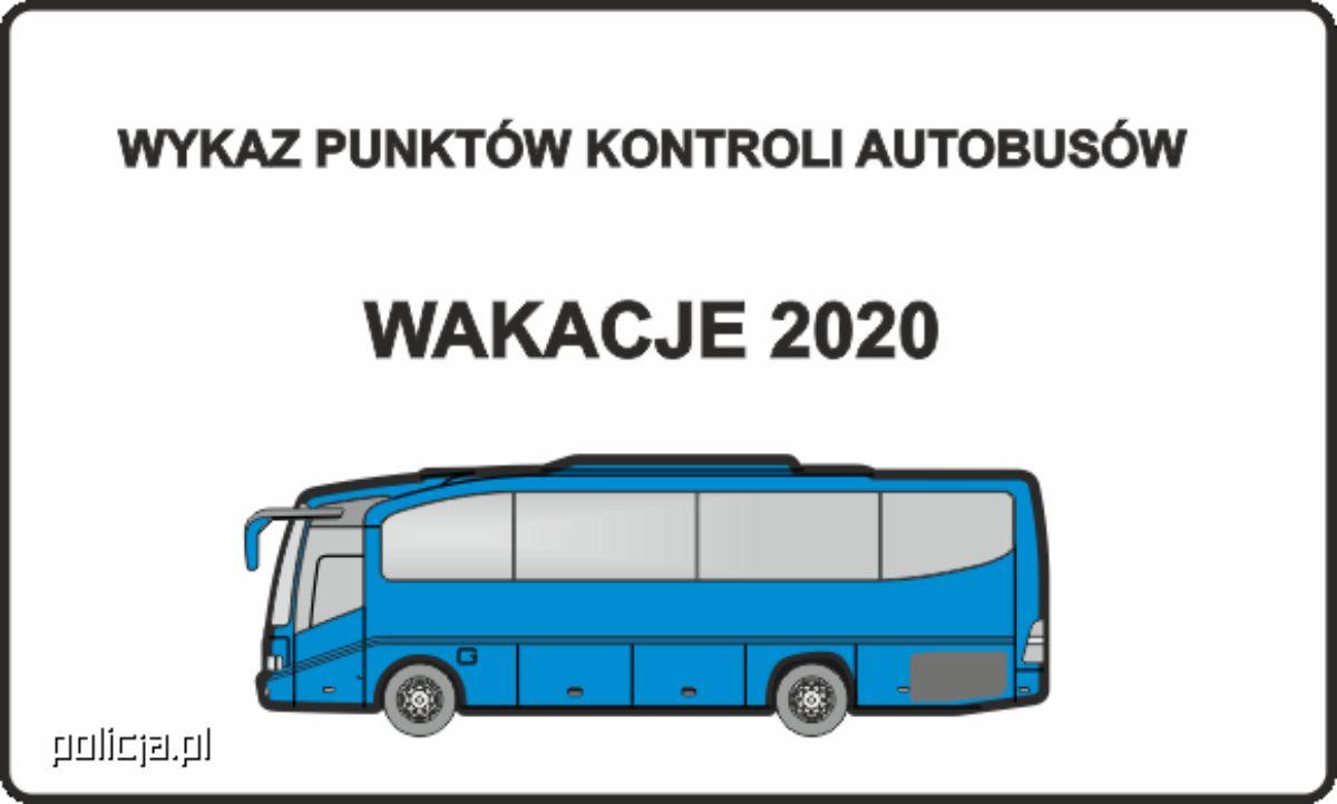 Podkarpacie. Wykaz punktów kontroli autobusów - wakacje 2020 - Zdjęcie główne