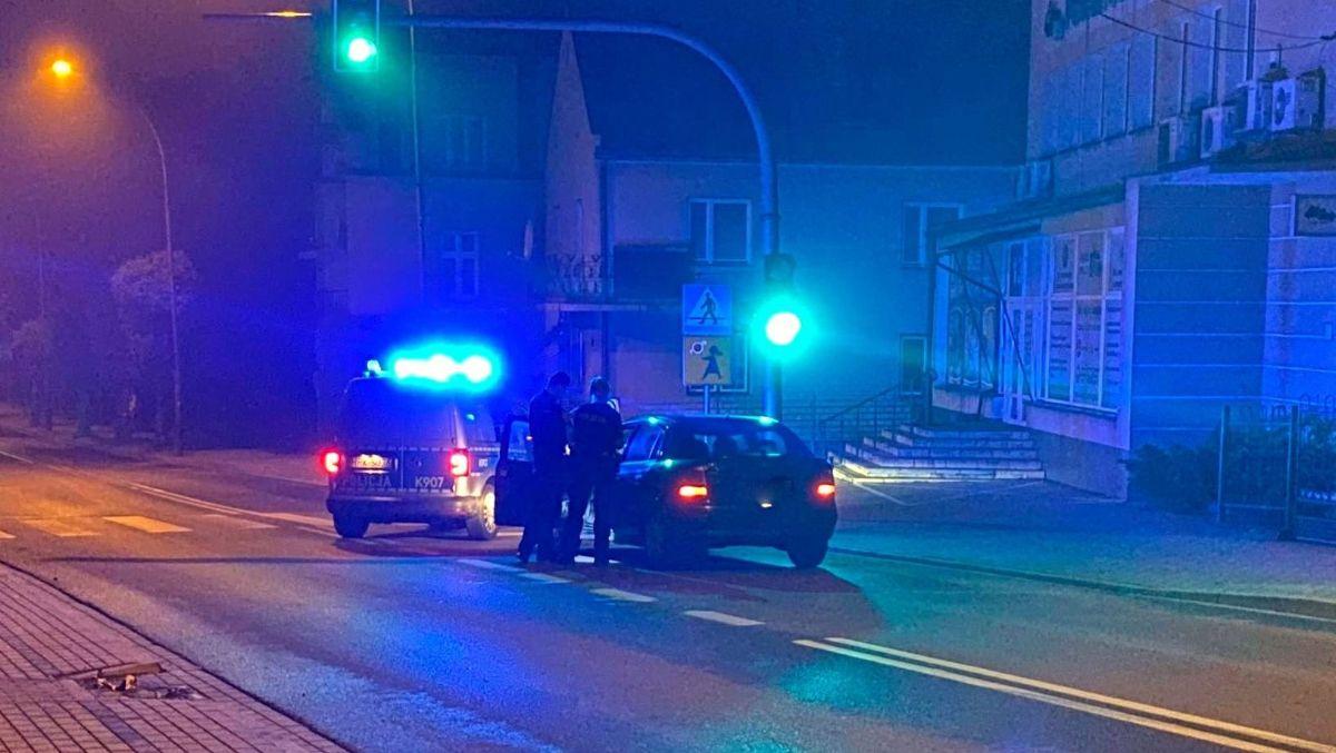SANOK: Nocny pościg w centrum miasta [FOTO+VIDEO] - Zdjęcie główne