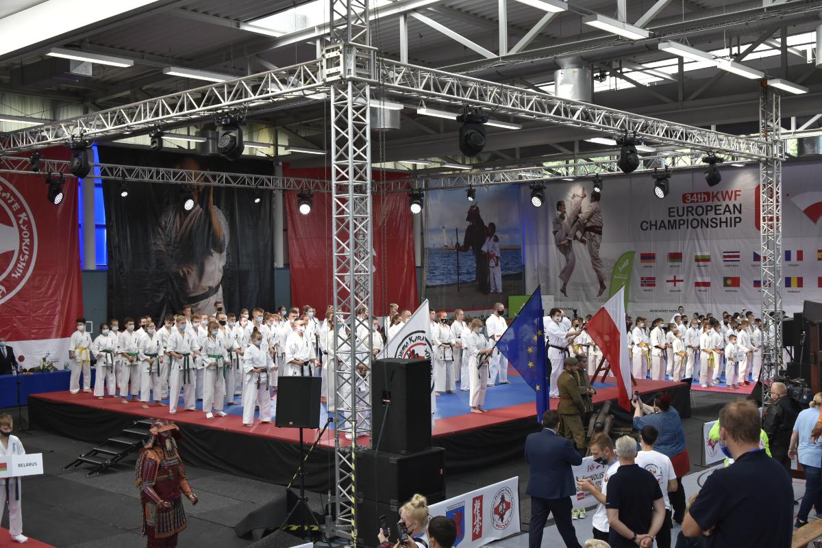 Kumite Niebieszczany na 34. Mistrzostwach Europy Karate Kyokushin w Świnoujściu [ZDJĘCIA] - Zdjęcie główne
