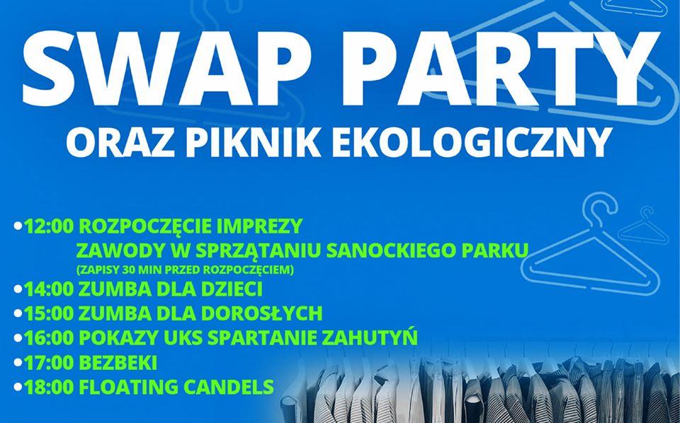 SWAP PARTY oraz Miejski Piknik Ekologiczny w Sanoku - Zdjęcie główne