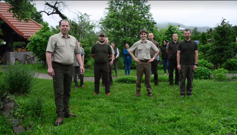 Leśnicy z Baligrodu odpowiadają na #GaszynChallange! [VIDEO] - Zdjęcie główne