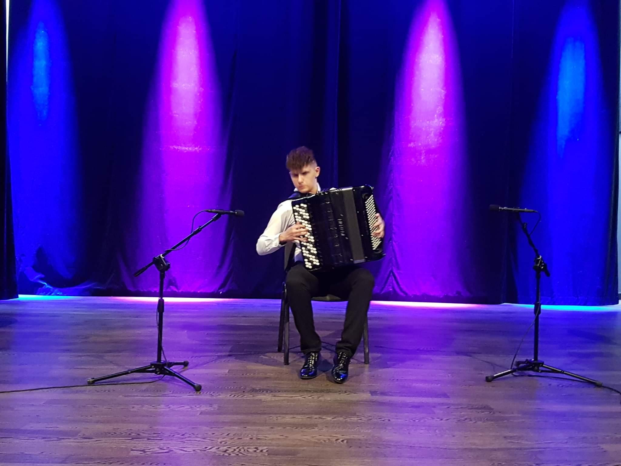 Kolejne sukcesy sanockich akordeonistów  - Zdjęcie główne