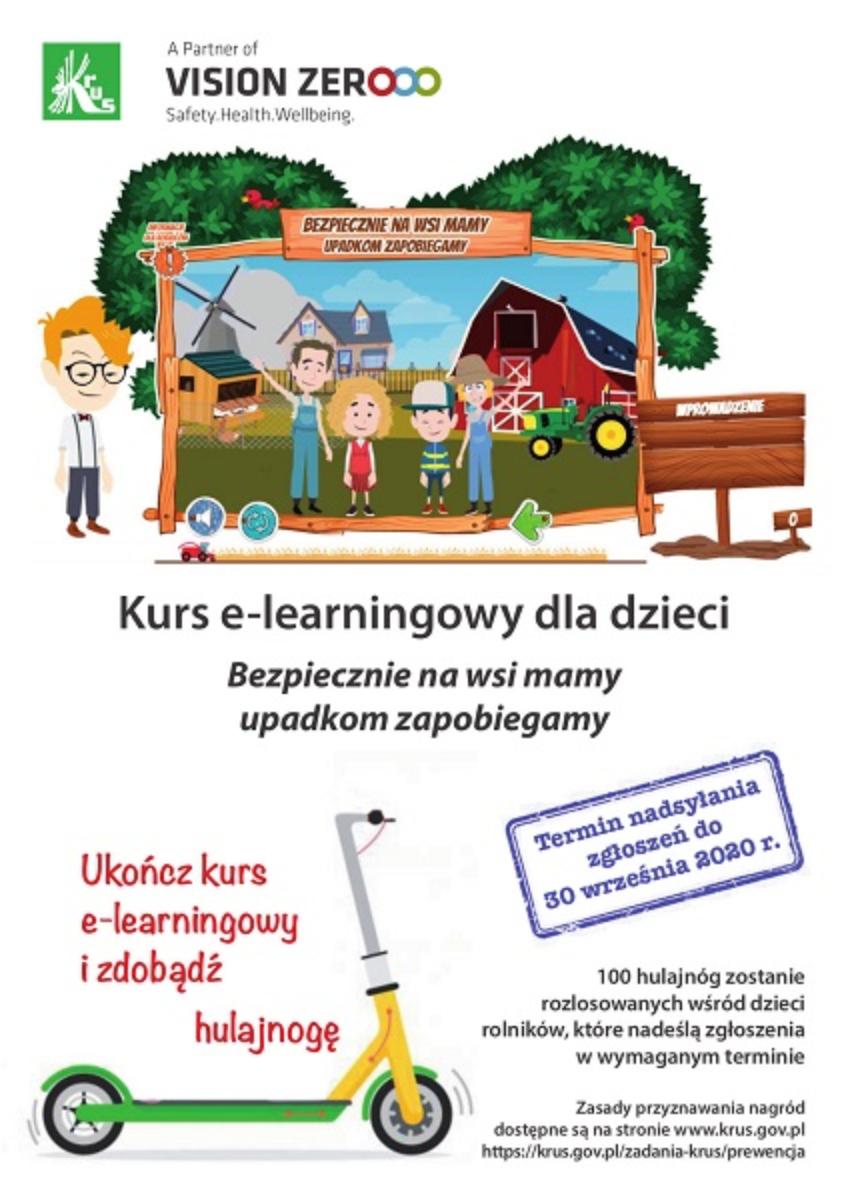KRUS: Ukończ kurs e-learningowy i wygraj hulajnogę! - Zdjęcie główne