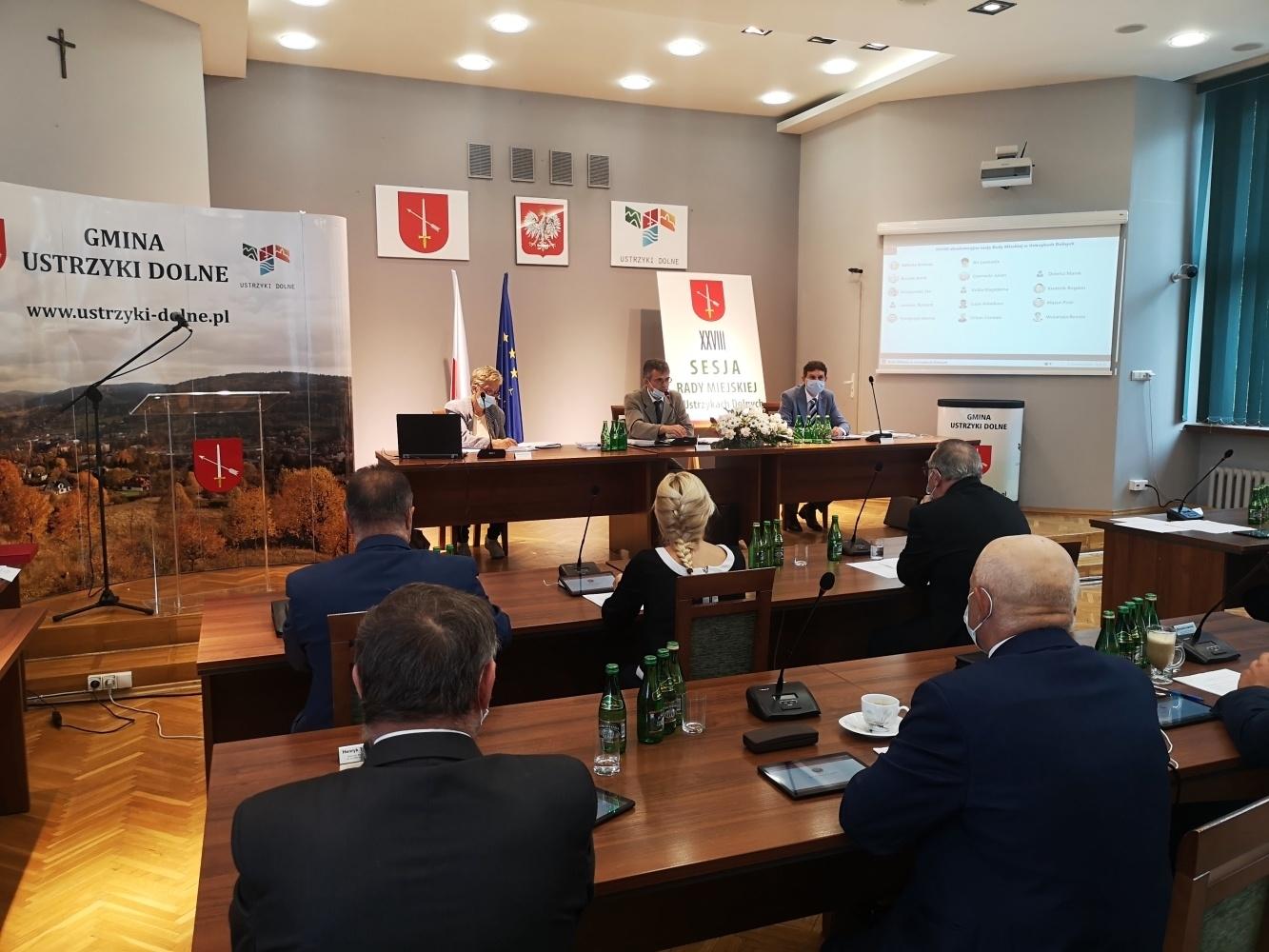 Burmistrz Ustrzyk Dolnych nie otrzymał votum zaufania - Zdjęcie główne