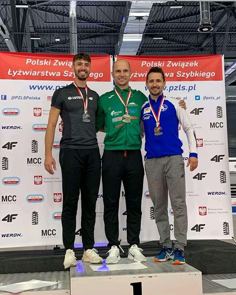 Kaja Ziomek i Piotr Michalski zdobyli złote medale na Mistrzostwach Polski w łyżwiarstwie szybkim! - Zdjęcie główne