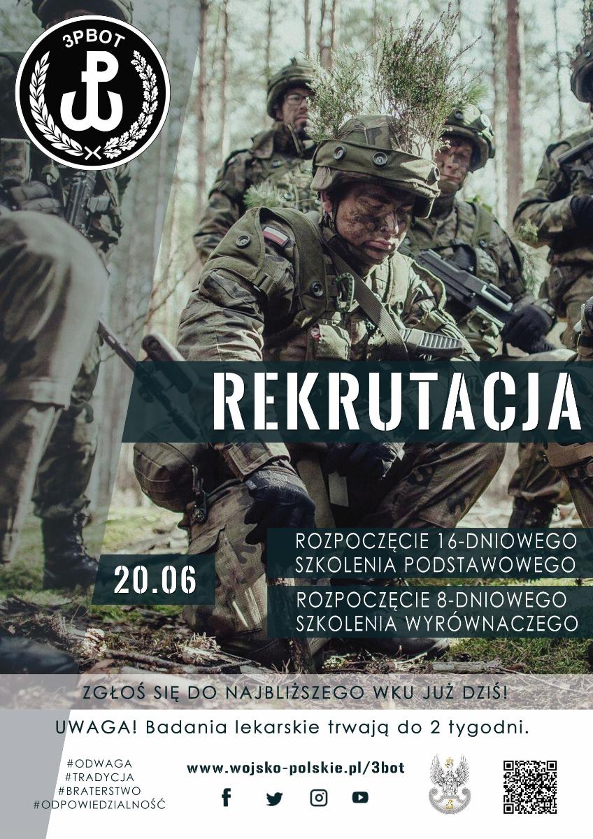 Dołącz do 3 Podkarpackiej Brygady Terytorialnej! - Zdjęcie główne