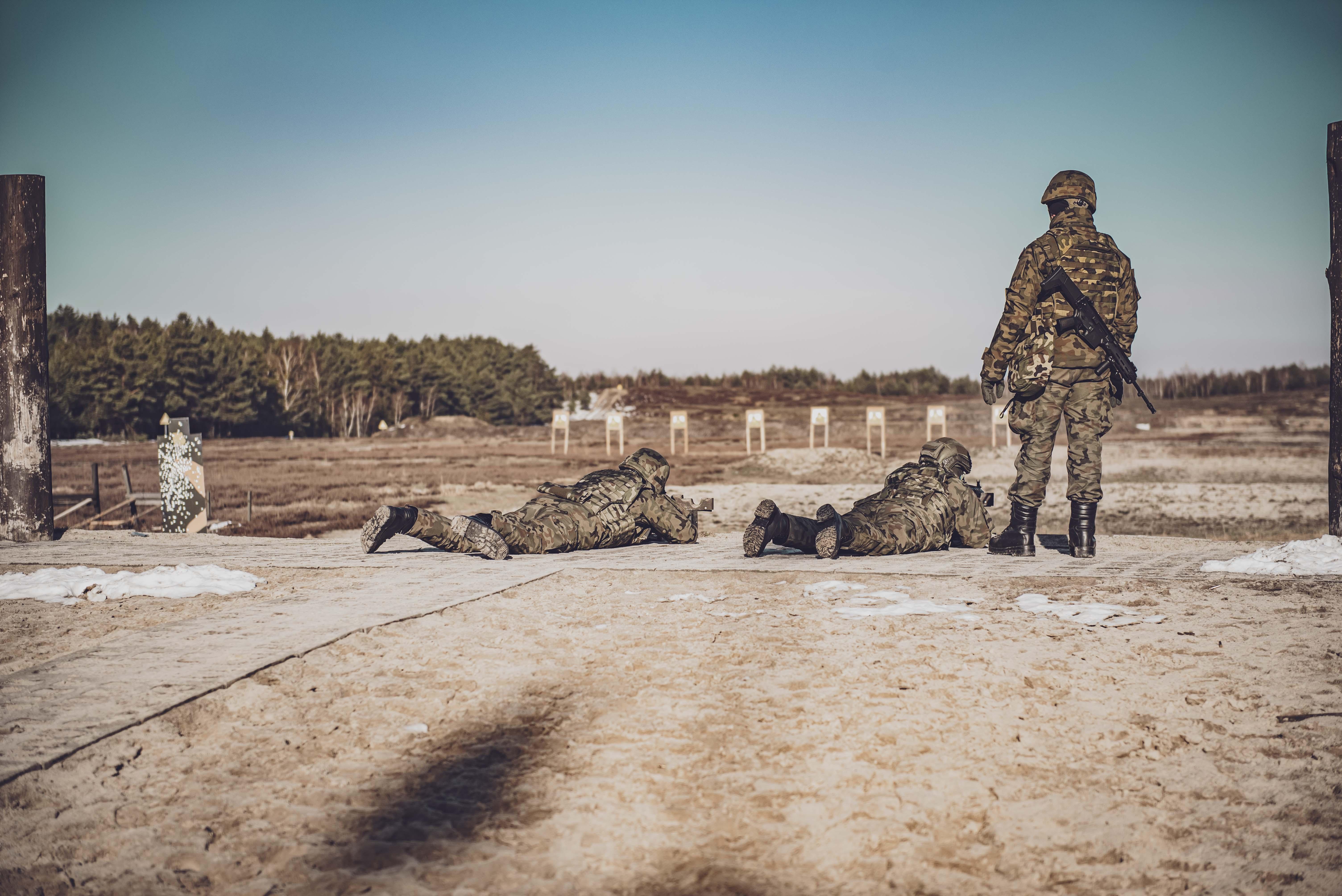 Pierwsze bojowe strzelanie kandydatów na Terytorialsów [ZDJECIA] - Zdjęcie główne