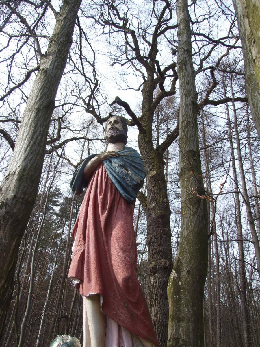 Leśna kapliczka do renowacji [FOTO] - Zdjęcie główne