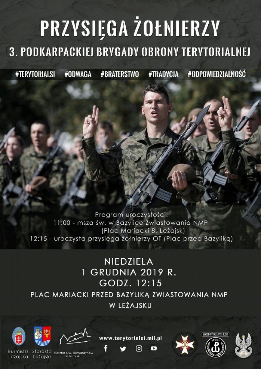 Pierwsza przysięga na swój sztandar żołnierzy z Podkarpacia - Zdjęcie główne