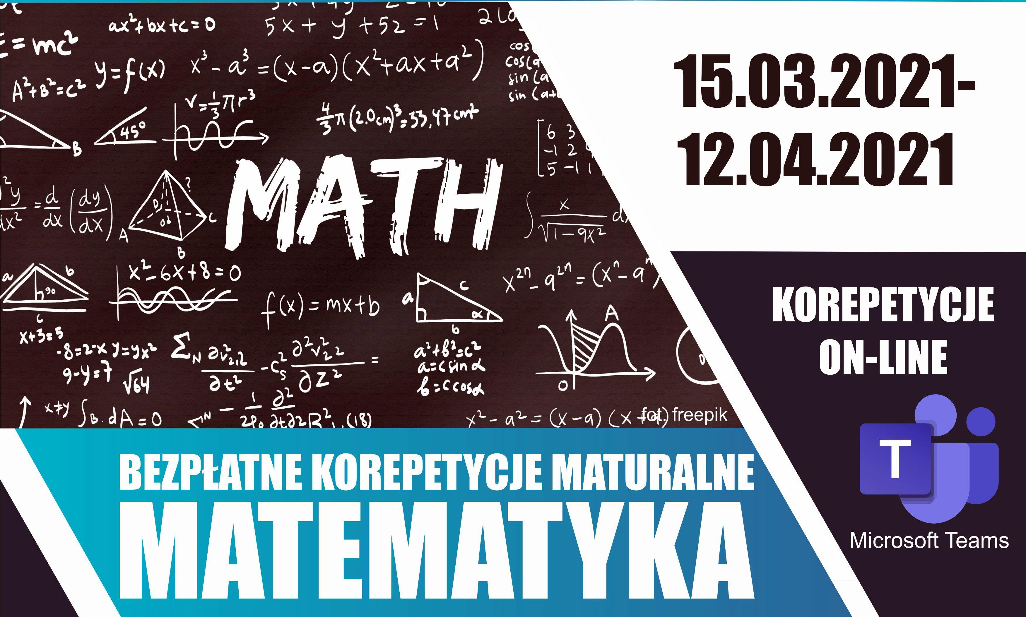 Skorzystaj z bezpłatnych korepetycji maturalnych z matematyki na Uczelni Państwowej w Sanoku - Zdjęcie główne