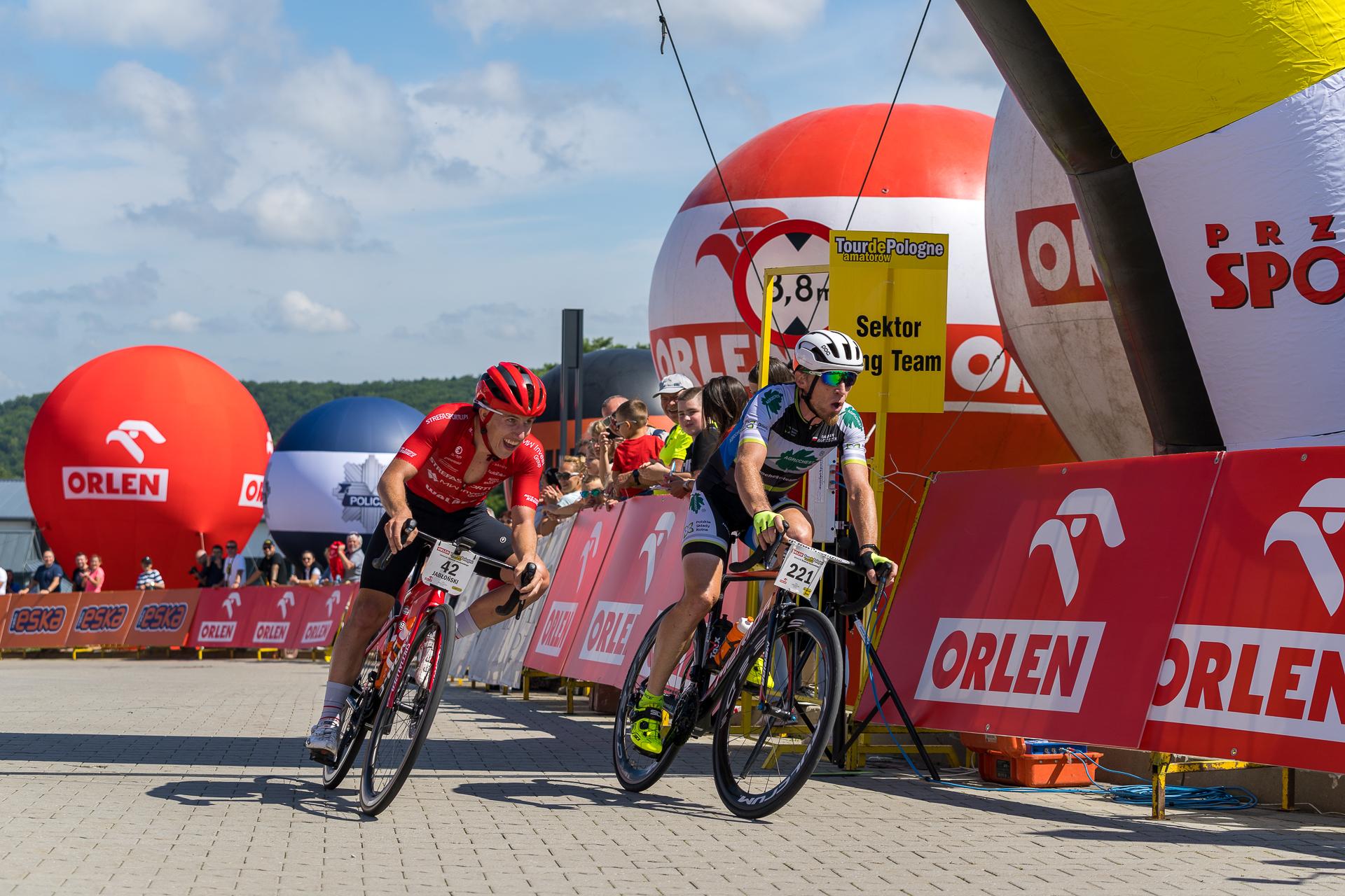 Po raz pierwszy Tour de Pologne Amatorów zawitał do Arłamowa - Zdjęcie główne