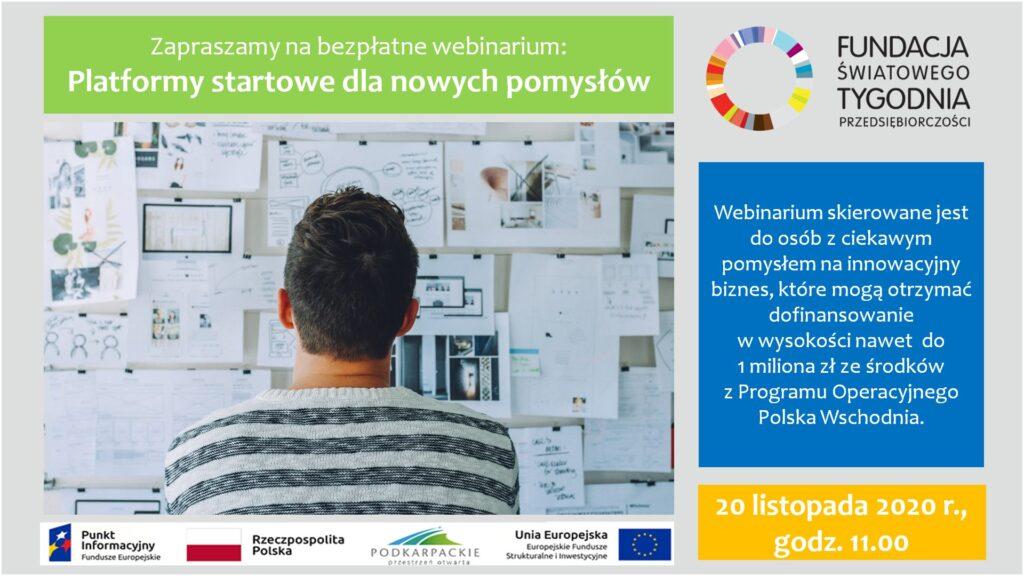 """Sanok. """"Platformy startowe dla nowych pomysłów""""  - Zdjęcie główne"""