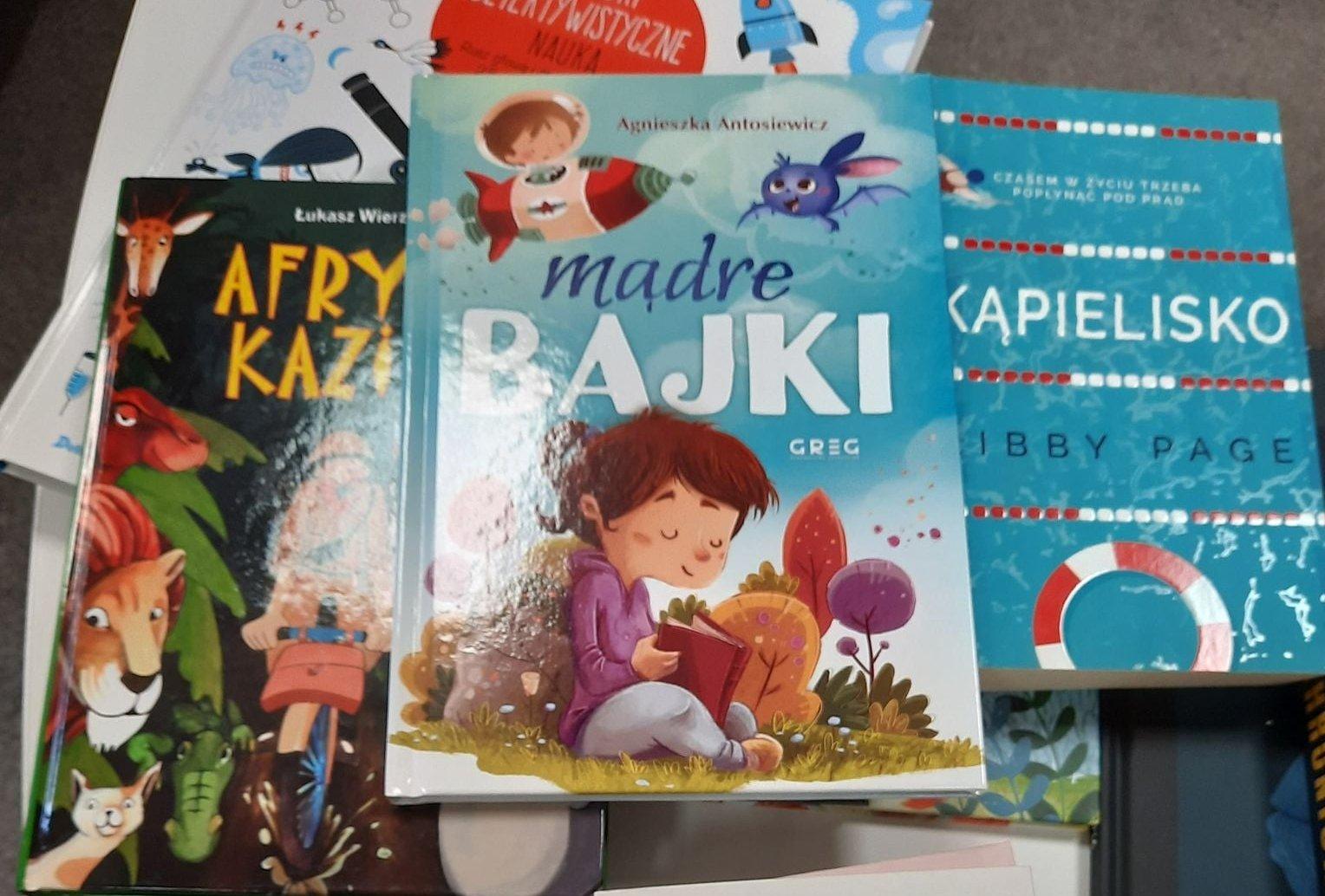 Biblioteka  Publiczna w Komańczy wzbogaciła się o nowości czytelnicze! [ZDJĘCIA] - Zdjęcie główne