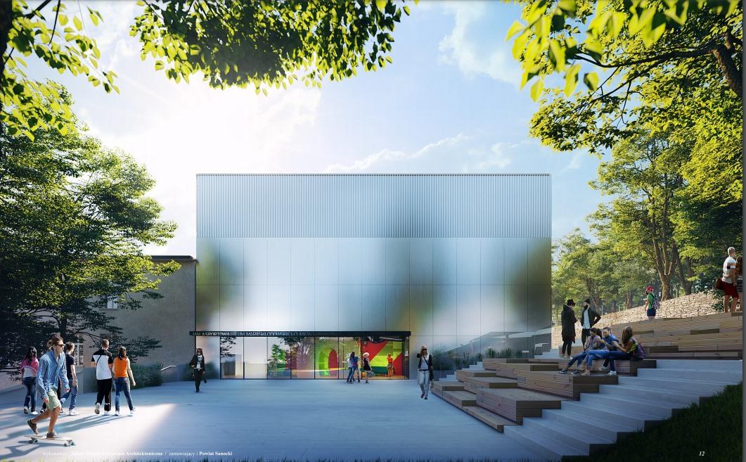 Nowa sala gimnastyczna dla II Liceum Ogólnokształcącego w Sanoku [WIZUALIZACJA]  - Zdjęcie główne