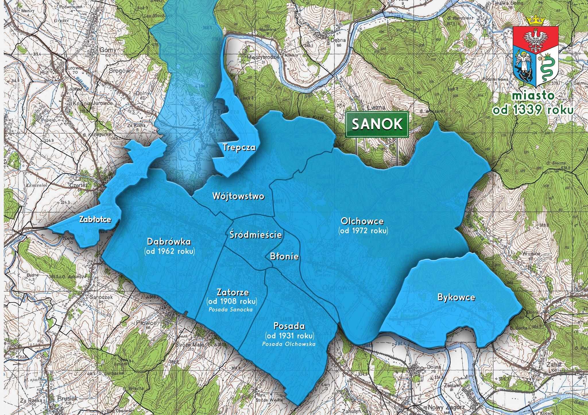 Procedura poszerzenia granic Sanoka jest nadal w toku! - Zdjęcie główne