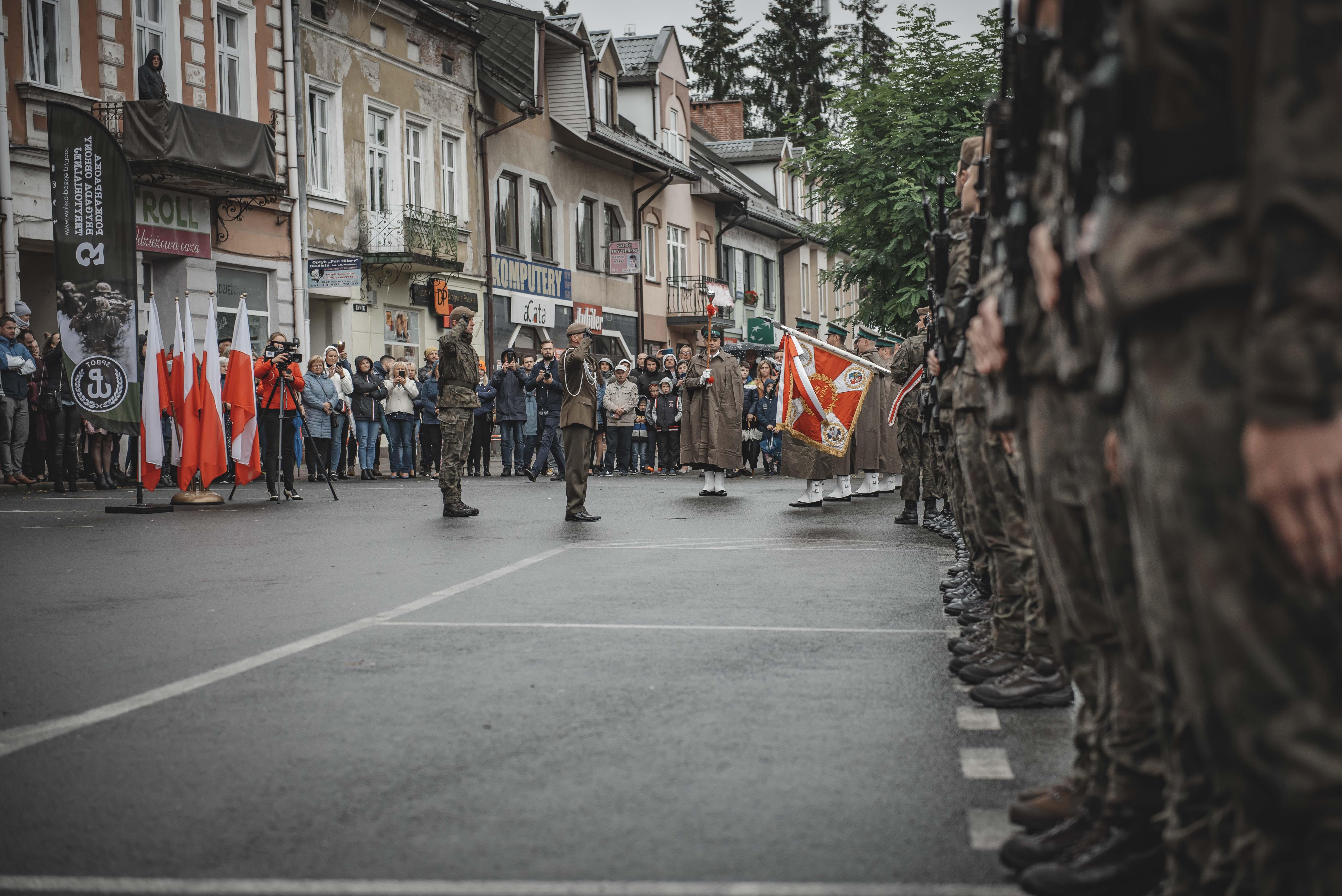 Terytorialsi złożyli przysięgę w Lesku [ZDJĘCIA] - Zdjęcie główne