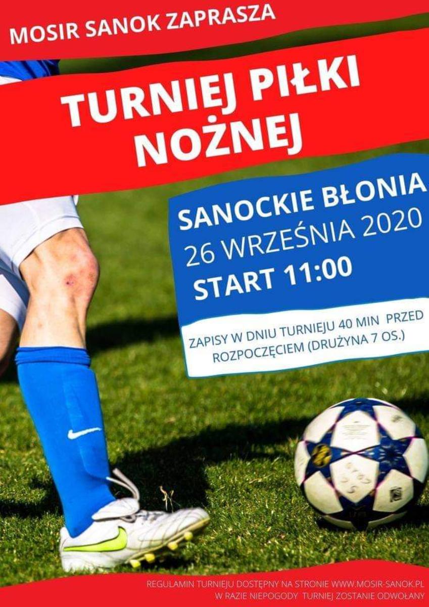 """Turniej piłki nożnej już w najbliższy weekend na sanockich """"Błoniach"""" - Zdjęcie główne"""