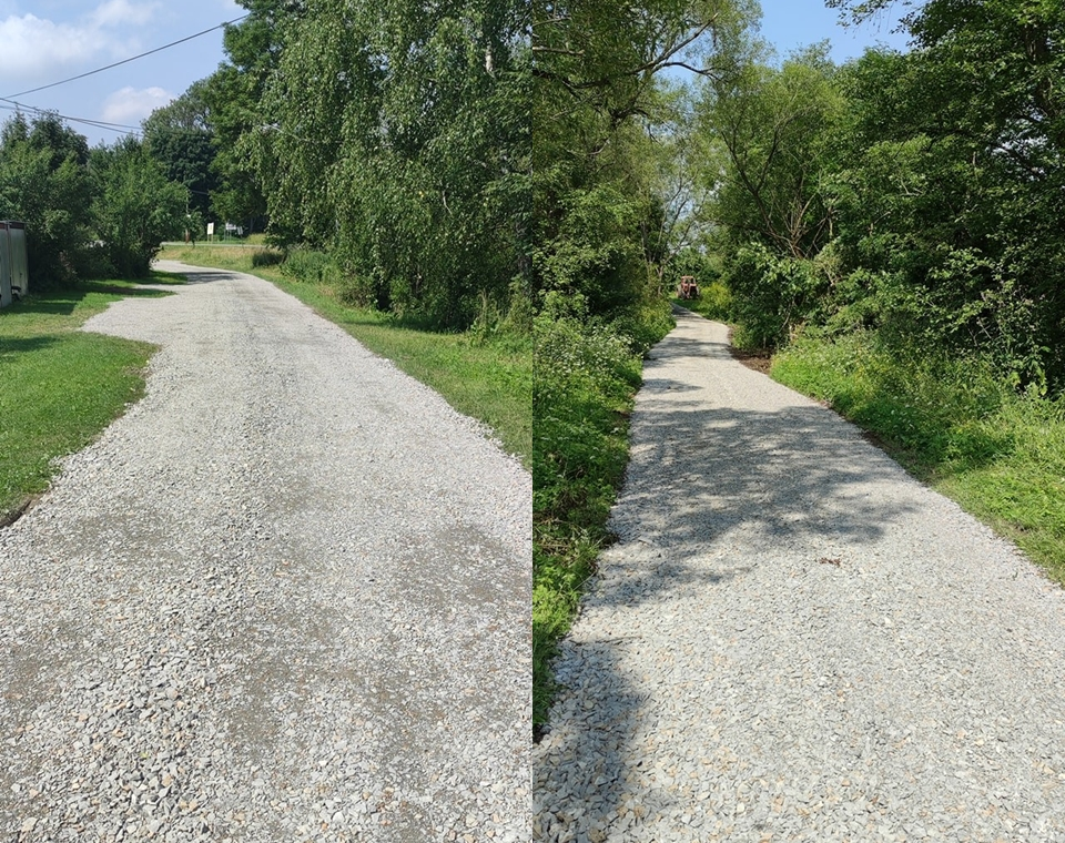 Remont drogi gminnej w miejscowości Wola Michowa - Zdjęcie główne