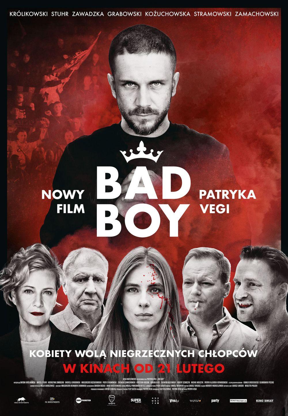 """KONKURS: Mamy dla Was dwie podwójne wejściówki na film """"Bad Boy"""" - Zdjęcie główne"""