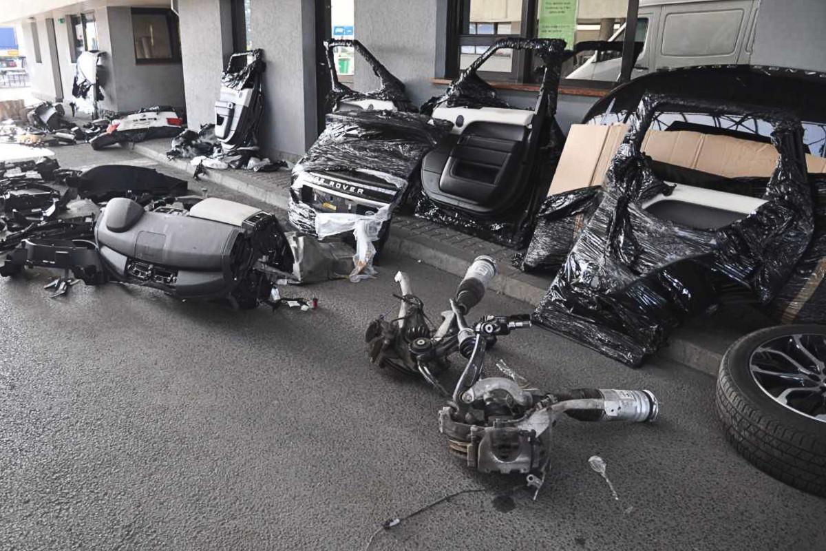 Podkarpacie. Skradzione auta w częściach na przejściu granicznym  - Zdjęcie główne