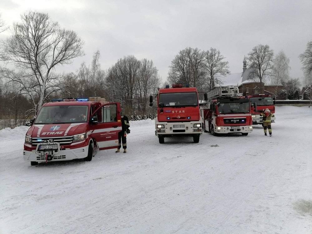 Podkarpacie: Zwierzęta zginęły w pożarze. Chlewnia stanęła w ogniu - Zdjęcie główne