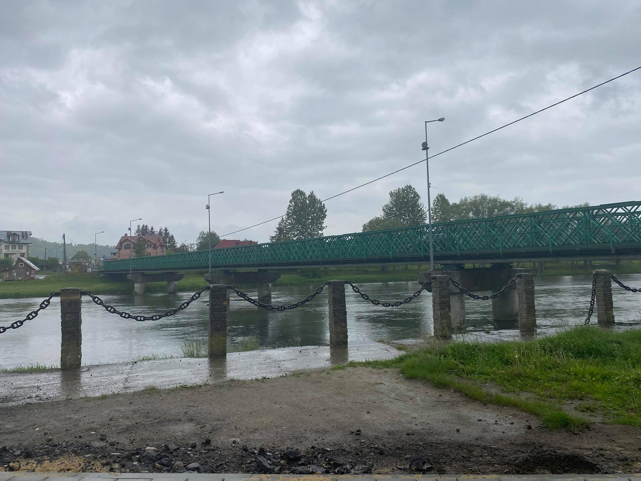 UWAGA! Wezbranie rzek z przekroczeniem stanów ostrzegawczych - Zdjęcie główne