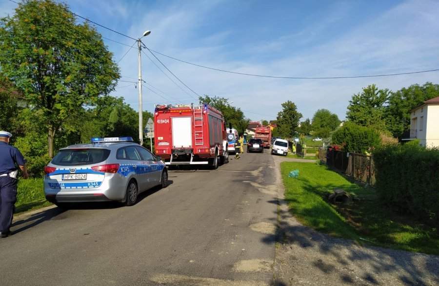 Z Regionu: Potrącenie pieszego w Zmiennicy - Zdjęcie główne