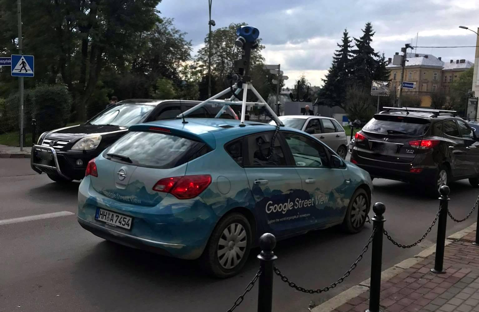 Samochód Google Street View fotografuje dzisiaj Sanok  - Zdjęcie główne