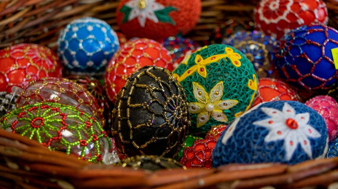 Zobacz Wystawę Wielkanocną i wspomóż rękodzielników!  [ZDJĘCIA] - Zdjęcie główne
