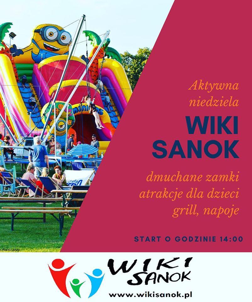 Sanok: Aktywna niedziela na Wiki Sanok!  - Zdjęcie główne